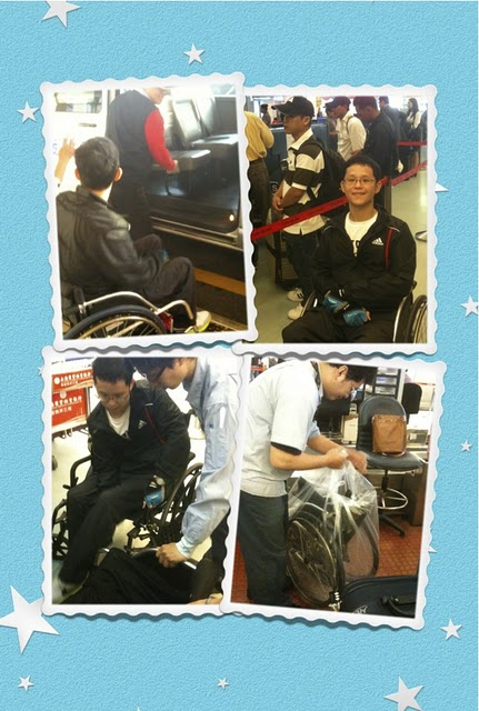 坐轮椅怎麼上飞机?