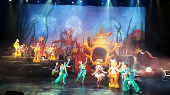 花莲海洋主体乐园斥资千万打造新舞台秀 争取暑假游客到花莲
